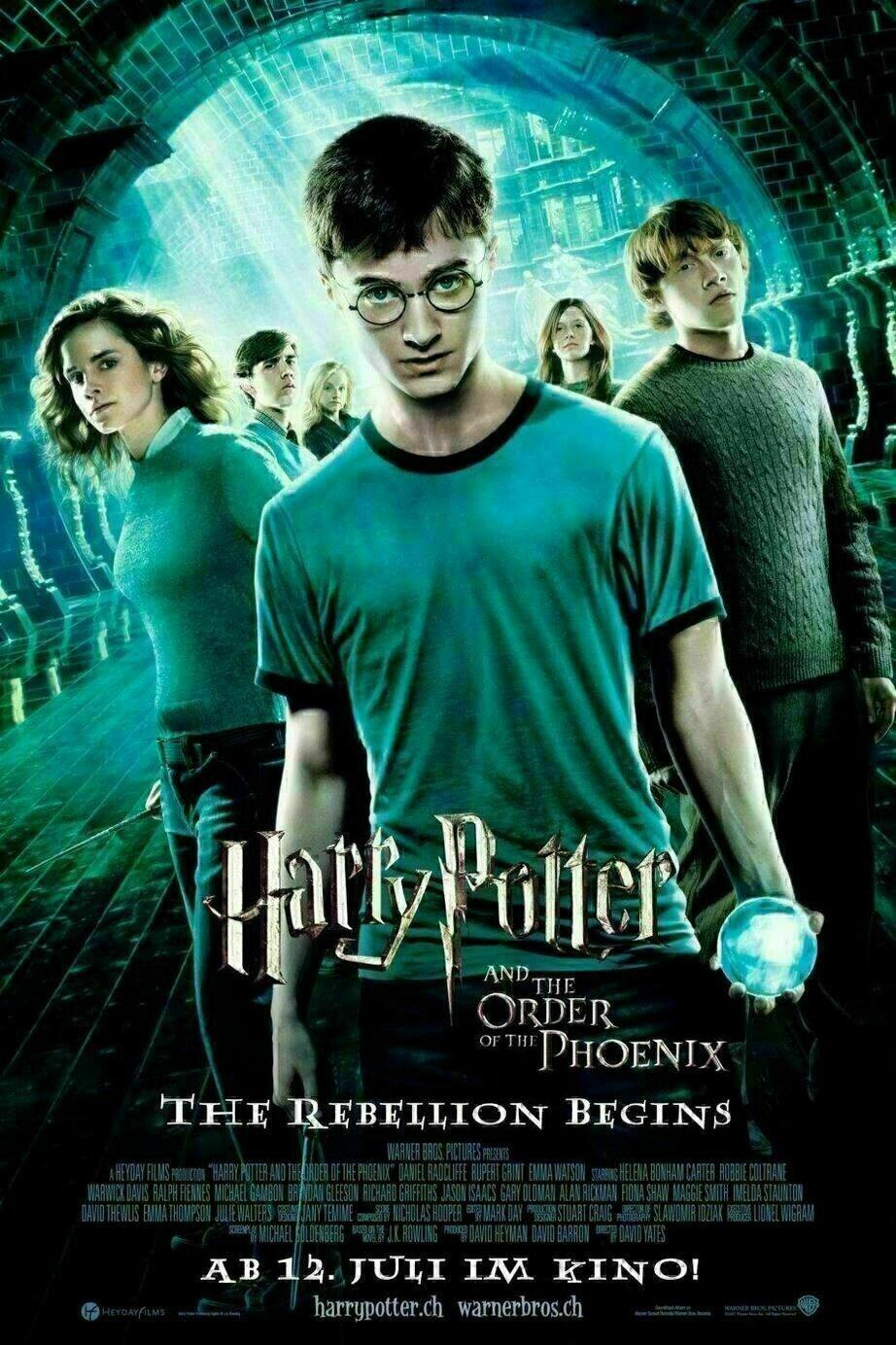 Harry Potter Und Der Orden Des Phonix Szenenbilder Und Poster Film Critic De
